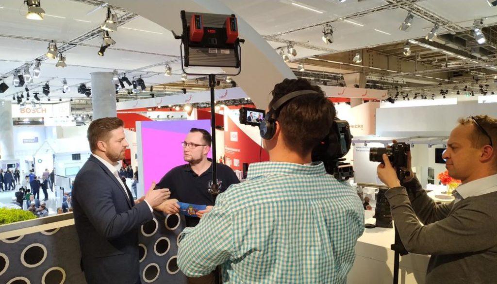 ISH Interview mit Bosch
