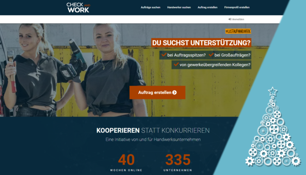 CHECK AND WORK: Die etwas andere Weihnachtsgeschichte