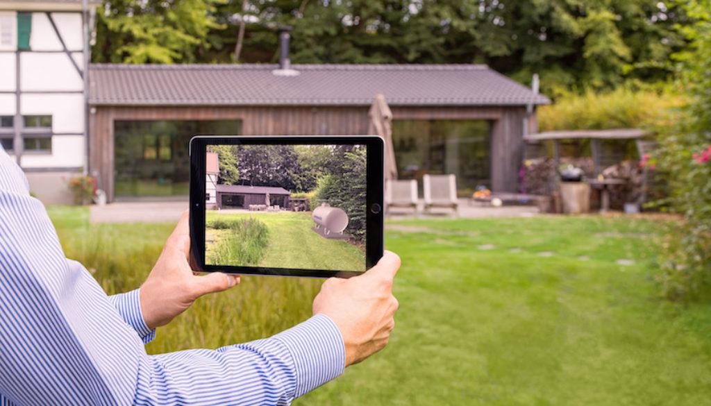 Primagas berät mit Augmented Reality-App