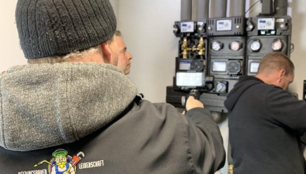 Heizungsbauer aus Leidenschaft testet den HeatBloC® MCom von PAW