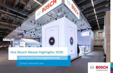 Virtueller Messestand Bosch Heiztechnik
