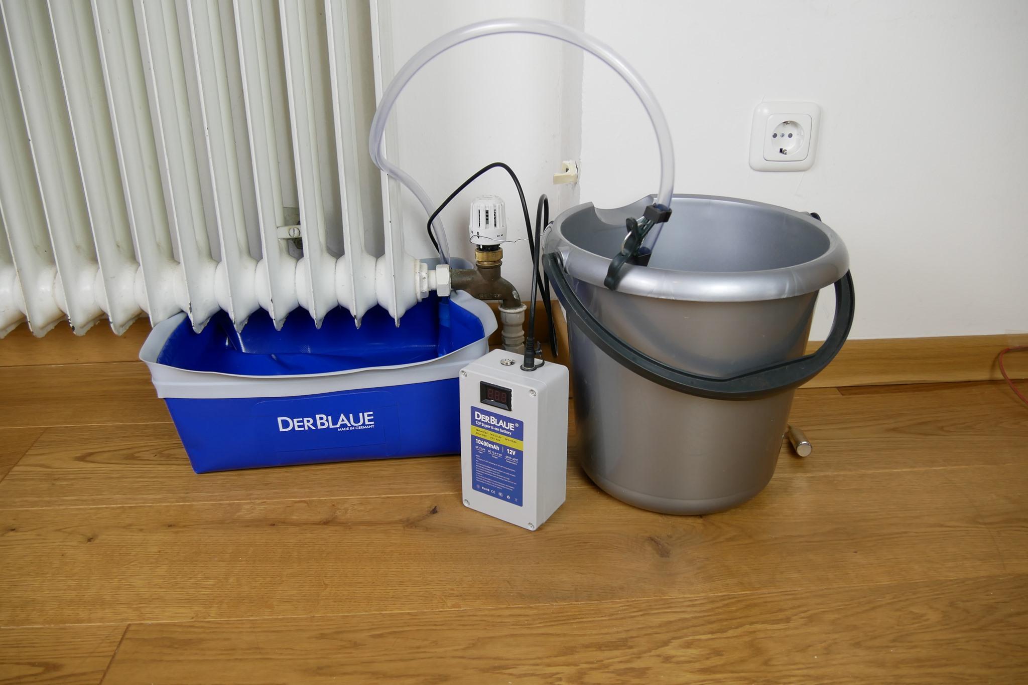 """Das beste Wasserauffangsystem am Markt: """"Der Blaue"""" kommt in unseren Onlineshop"""