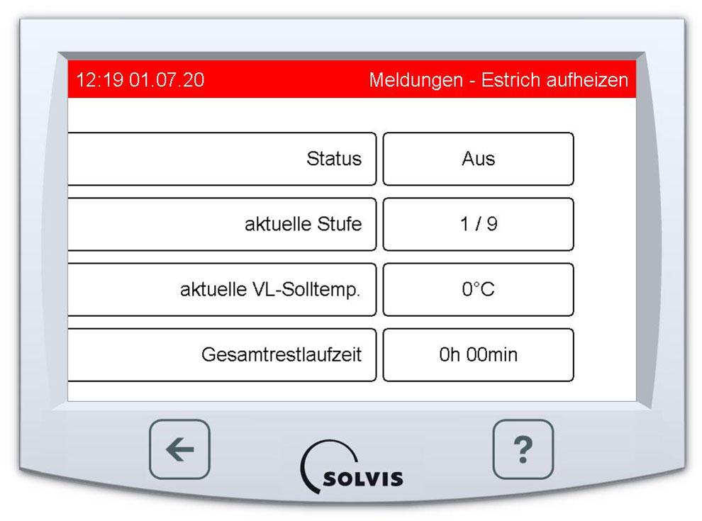 SolvisControl 3 Heizungsregelung